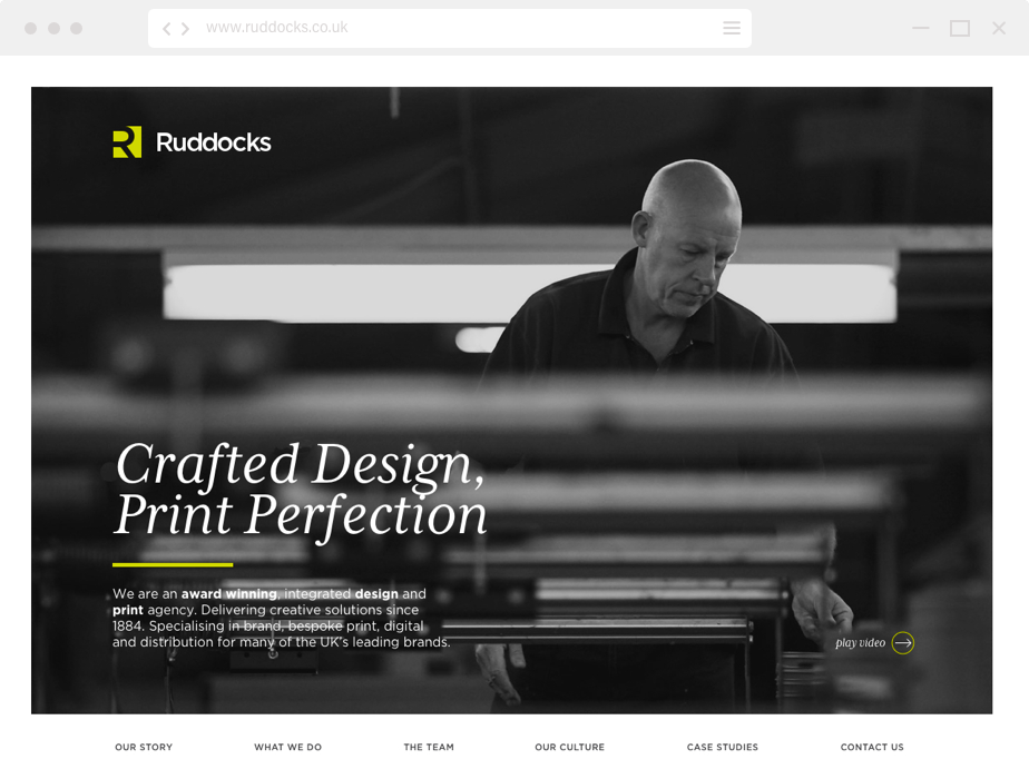 Ruddocks home page