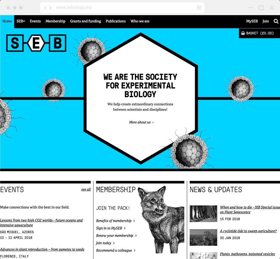 SEB Home page