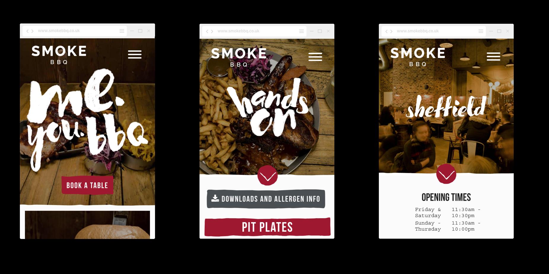 Smoke mobile designs