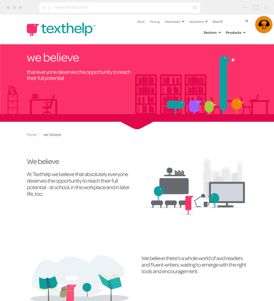 Texthelp website home page